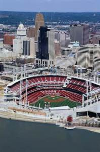 Great American Ball Park in Cincinnati, Ohio. Site for the 2015 All-Star Game.