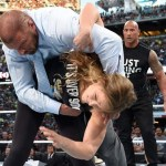Rousey Judo tosses Triple H