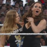 Rousey shows Stephanie her UFC skills firsthand