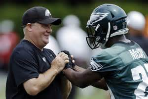 Chip Kelley and LeSean McCoy