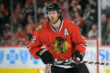 03 January 2016: Chicago Blackhawks Defenseman Duncan Keith (2) [2958] in action during a game between the Ottawa Senators and Chicago Blackhawks at the United Center in Chicago, IL. (Photo by Patrick Gorski/Icon Sportswire)
