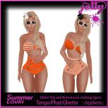Jelly Summer Lovin Orange Ad
