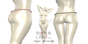 B&C by Legal Insanity - belly chain - Lubbly Jubblies