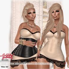 {ViSion} -S&F - Dress Caren W_Appliers - pic