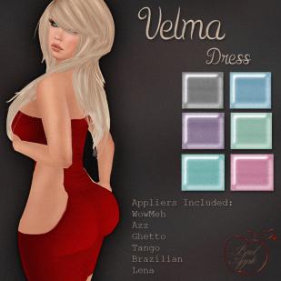 Velma Dress Light-BAD
