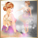TD Emma Dress with Appliers