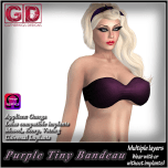 Tiny Bandeau Purple TO