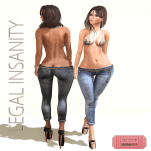 Legal Insanity - Mia Jeans