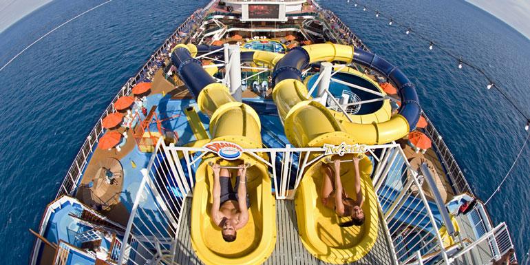 Dream Cruise Ship Slide - Cruise ship slide