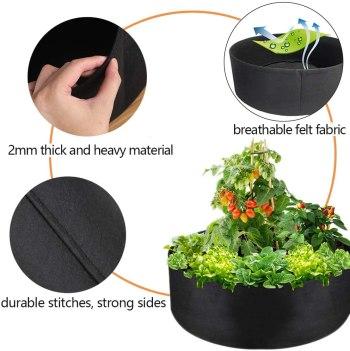 Kankainen istutuslaatikko kasveille ja vihanneksille tuotetiedot
