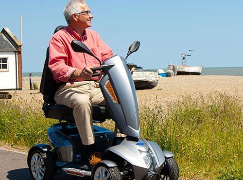 Motability, Scooter Leasing