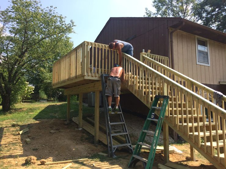 Deck Builder Springfield IL 1   Cleeton Construction Inc