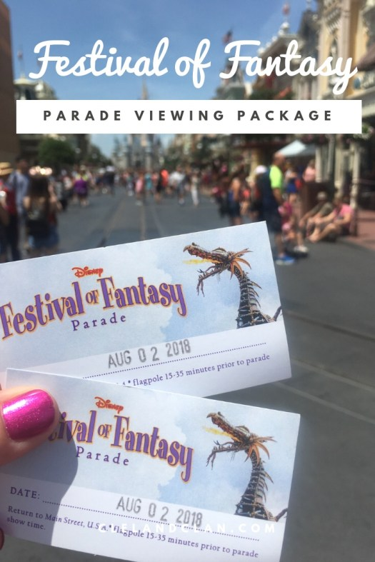 Disney's Festival of Fantasy Parade Dining Package - The Cleland Clan