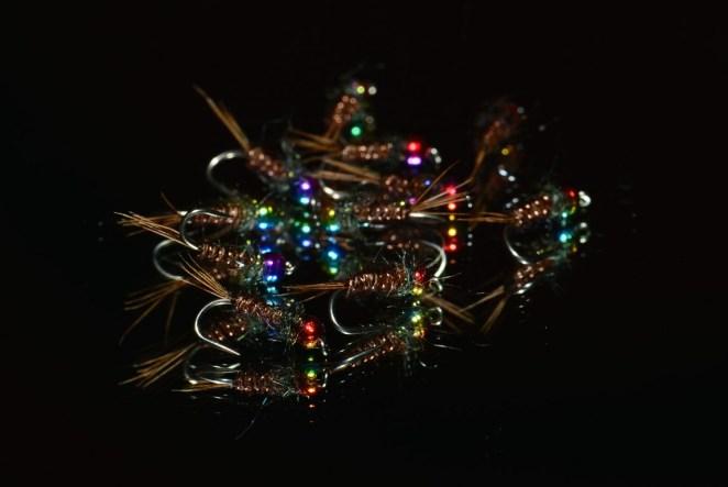 Nymphe bille tungstene multi color 12