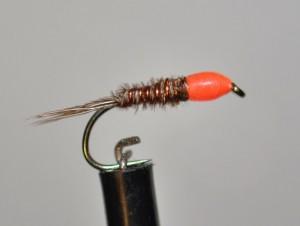 Tête orange