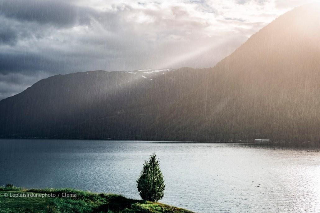 Norvège Van Sogndal voyage camping
