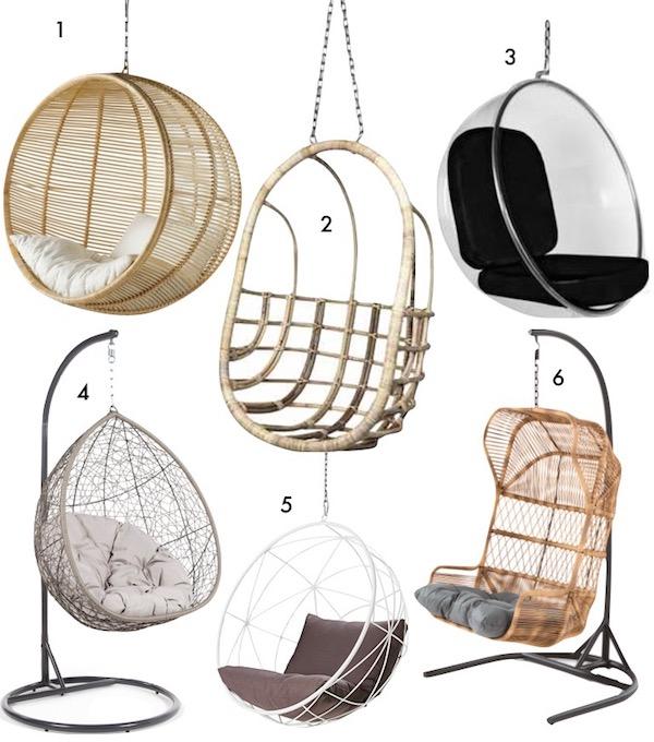 énorme réduction f15c9 41144 10 fauteuils suspendus - Blog Déco Design - Clem Around The ...