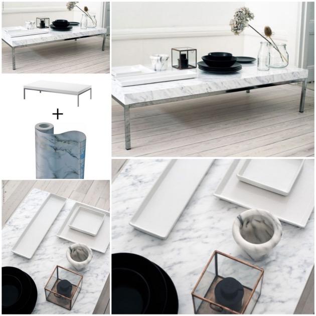 Customiser Une Table Basse Ikea Blog Dco Clem Around