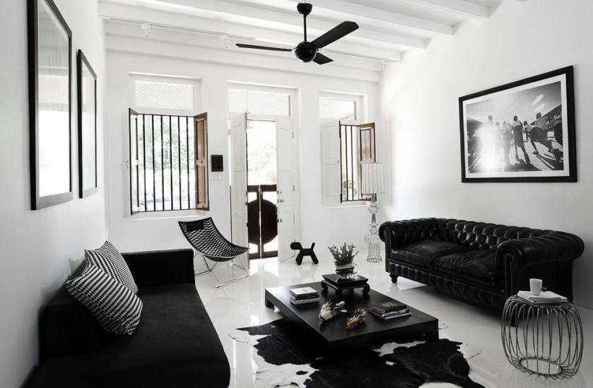 Id es cadeaux de no l s lection noire et blanche clem around the corner - Salon en noir et blanc ...