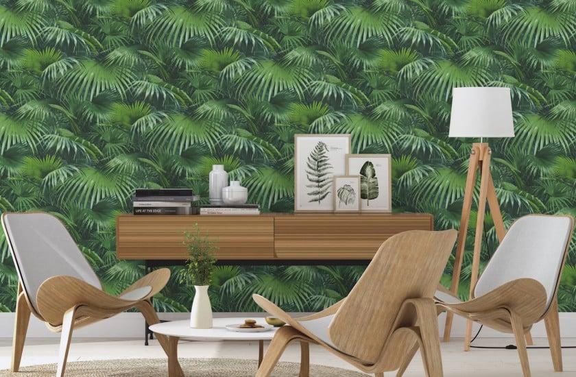 Les nouvelles ambiances 4murs blog d co clem around the - Papier peint 4 murs salon ...