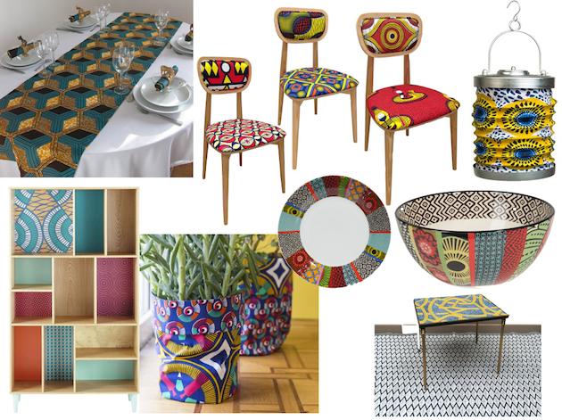 Deco Wax Le Tissu Africain Colore La Maison Clem