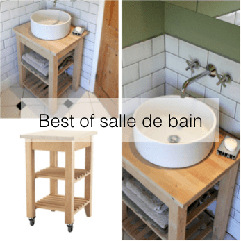 diy ikea hack en francais salle de bain