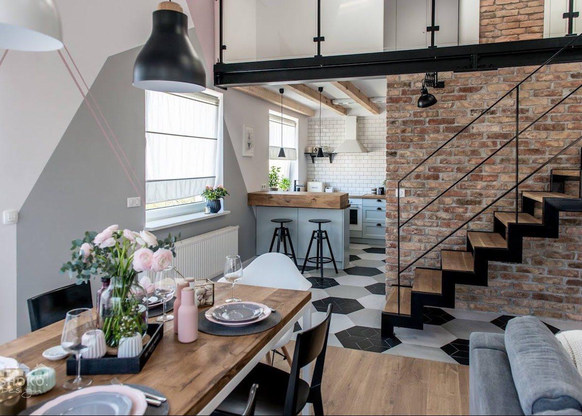 loft scandinave visite d co d coration int rieure. Black Bedroom Furniture Sets. Home Design Ideas