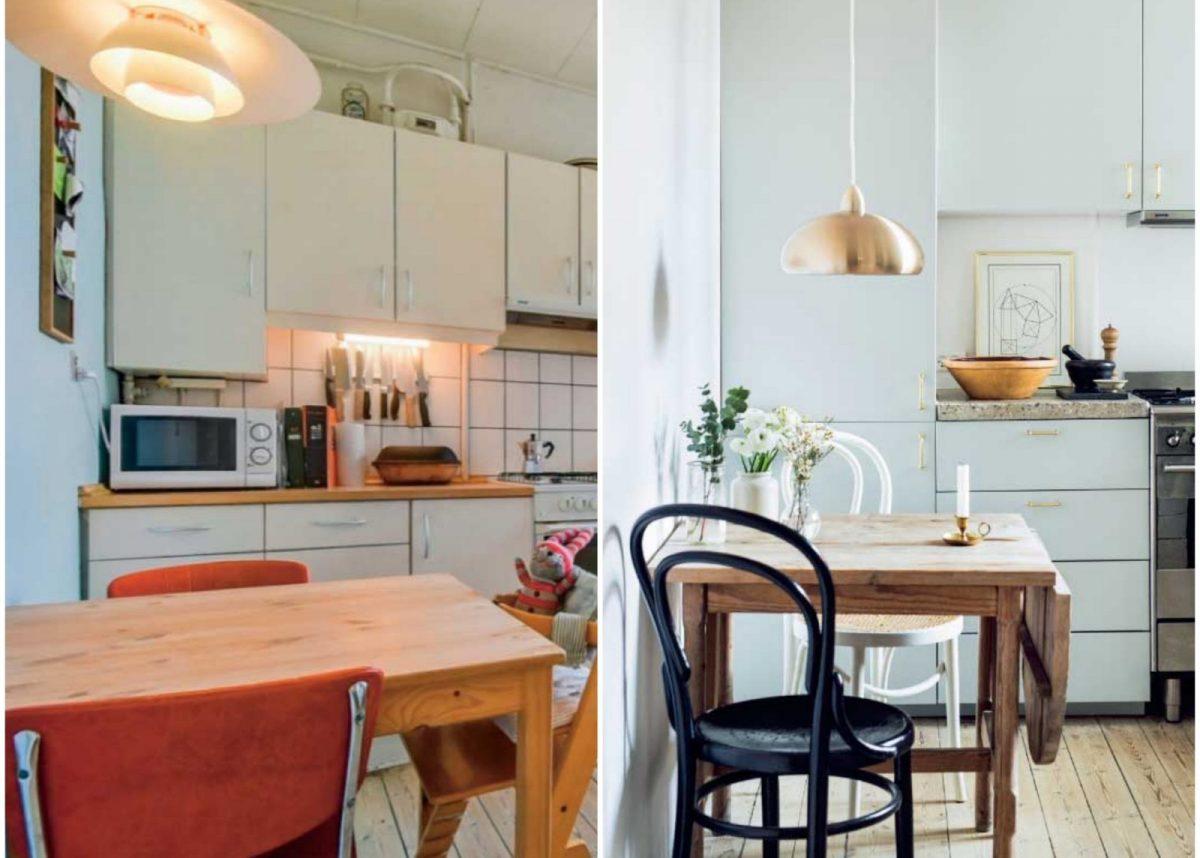 Charmant Appartement Avant Après Cuisine Scandinave