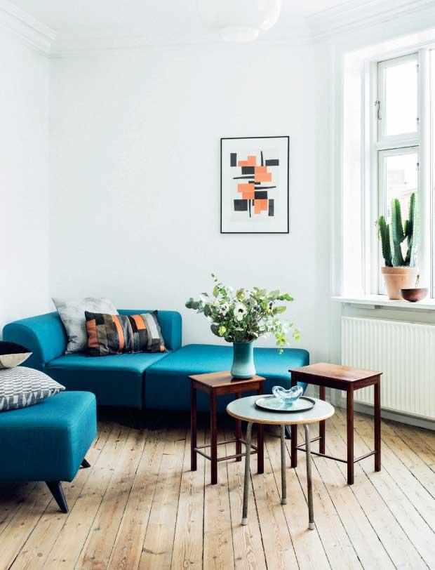 Comment Aménager Un Appartement Salon Au Style Nordique Vintage