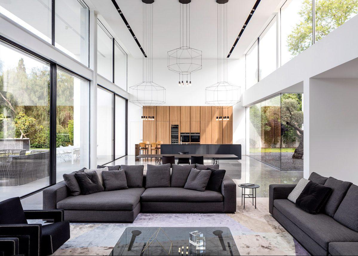 Maison transparente et minimaliste en Israël - Clem Around ...