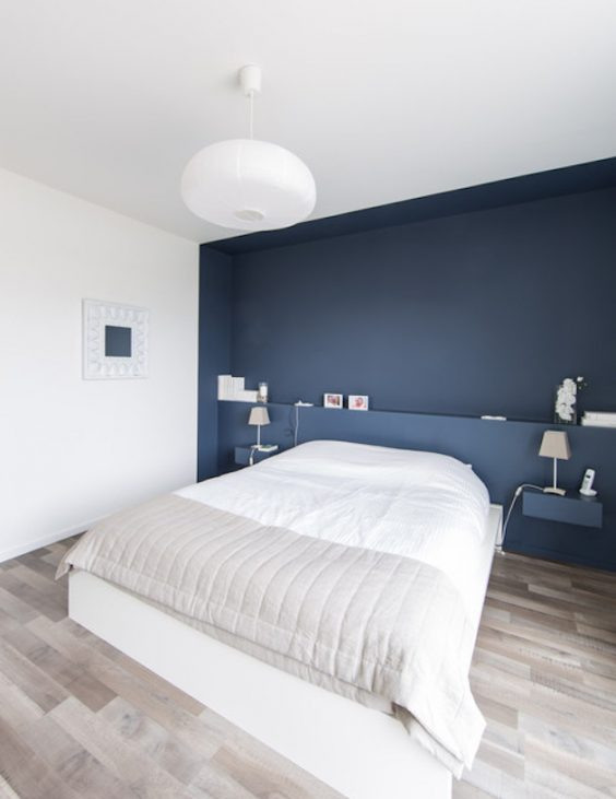 Créer une tete de lit en peinture : 20 inspirations canons - ClemATC déco