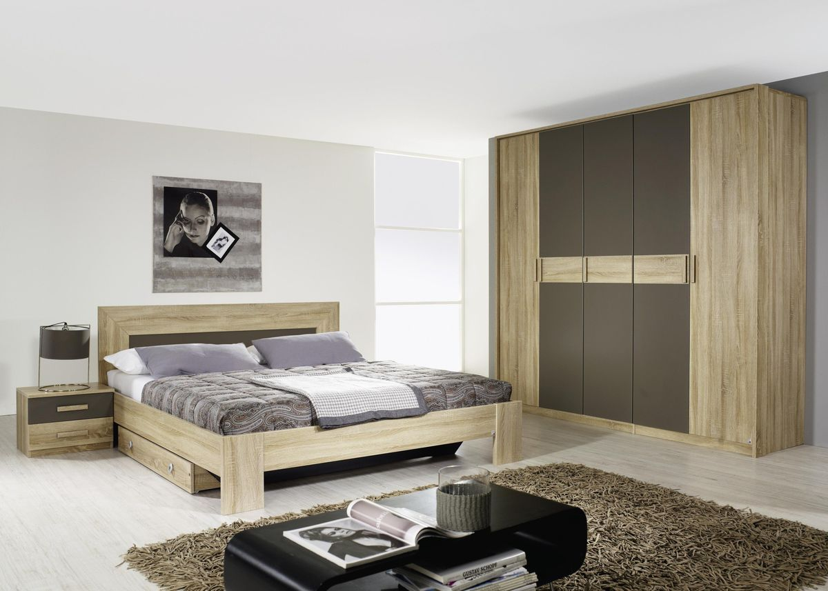 chambre masculine bois