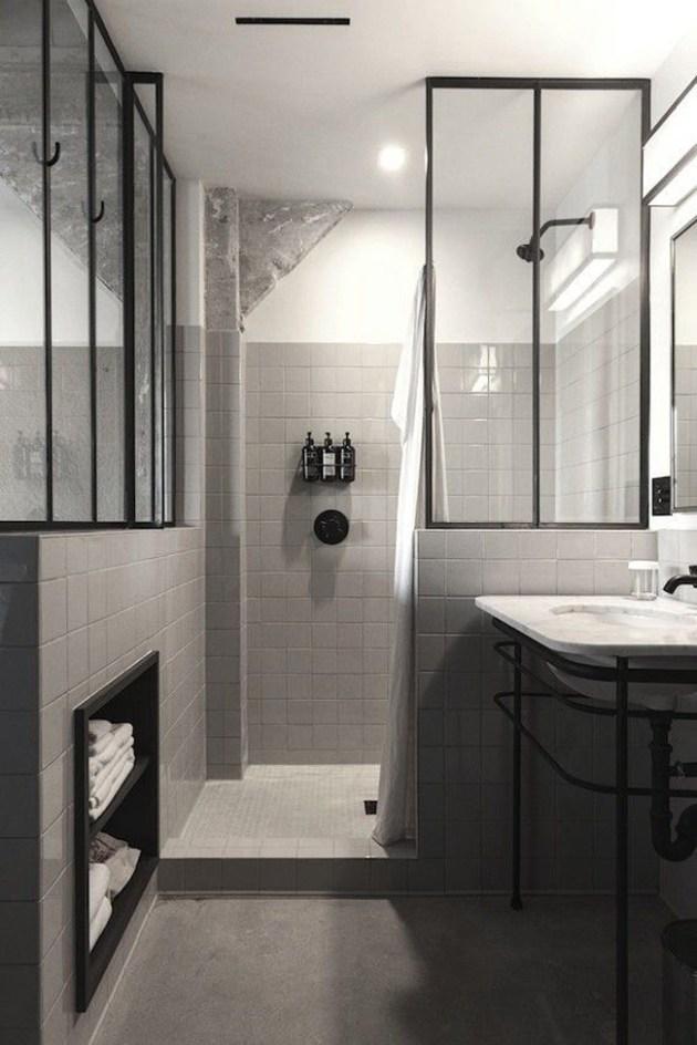 Salle de bain avec verriere : conseils et idées - ClemAroundTheCorner