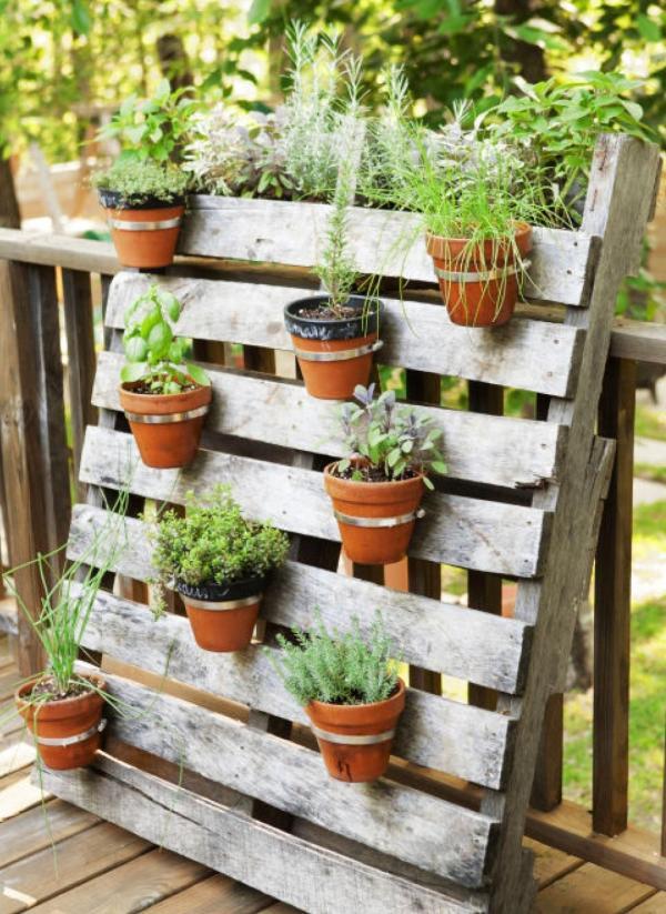 Deco Avec Palette Pour L Interieur Jardiniere En Palette