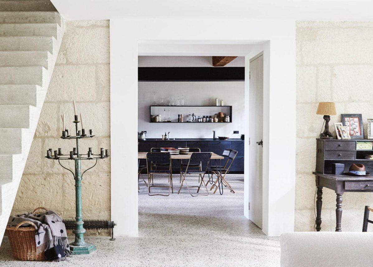 Visite déco : maison provençale dans une ancienne ferme du XVII
