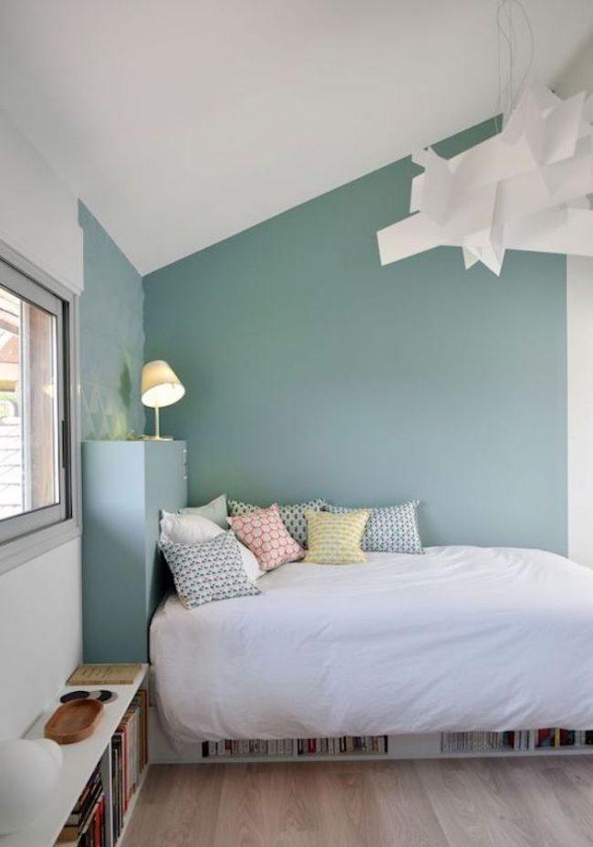 Couleur de chambre 10 conseils clemaroundthe corner - Peindre une chambre mansardee en 2 couleurs ...