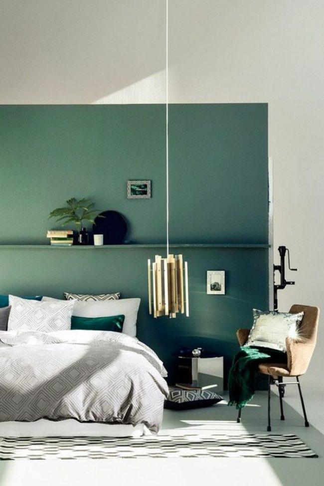 Couleur De Chambre Mur Bleu Vert Turquoise Original Nature