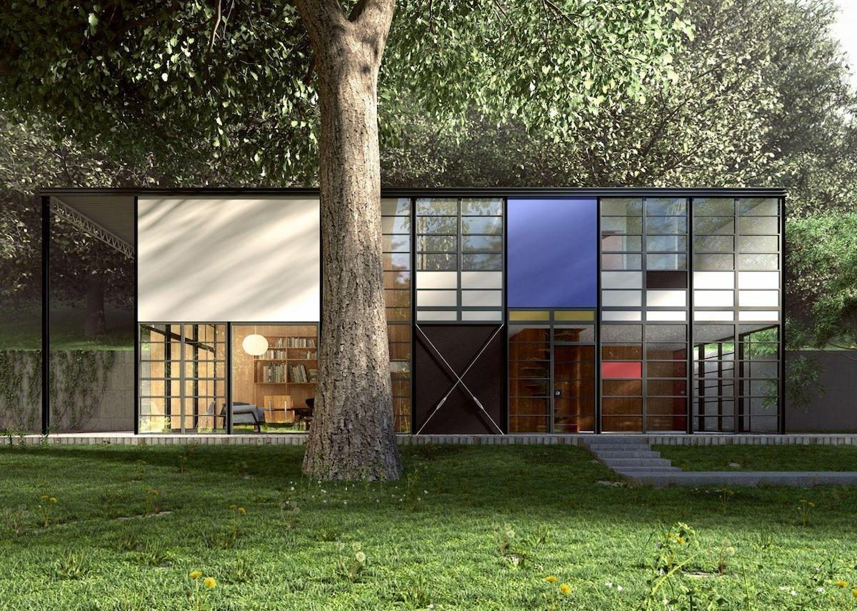 Maison Eames La Case Study House 8 Csh8 Blog D 233 Co