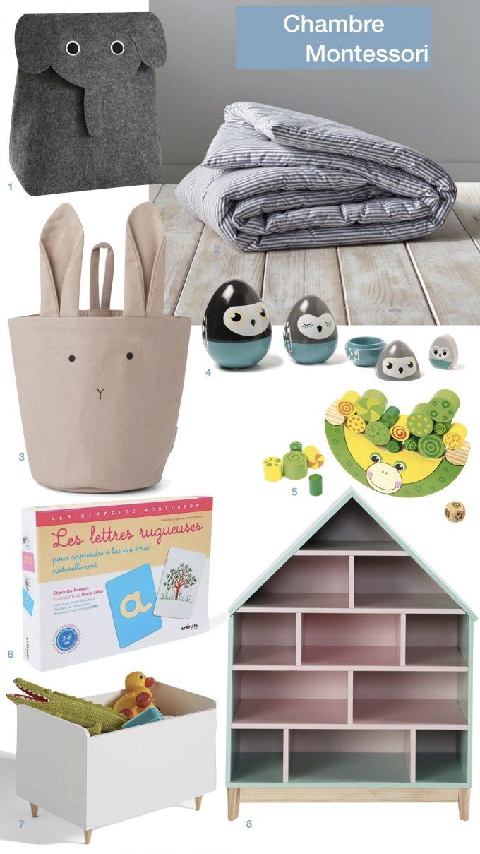 am nagement chambre montessori ce qu 39 il faut savoir. Black Bedroom Furniture Sets. Home Design Ideas