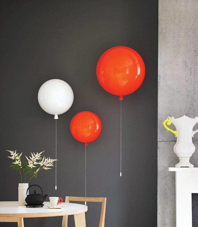 lampe de createur applique suspension ballon gonflable helium blog deco design clemaroundthecorner