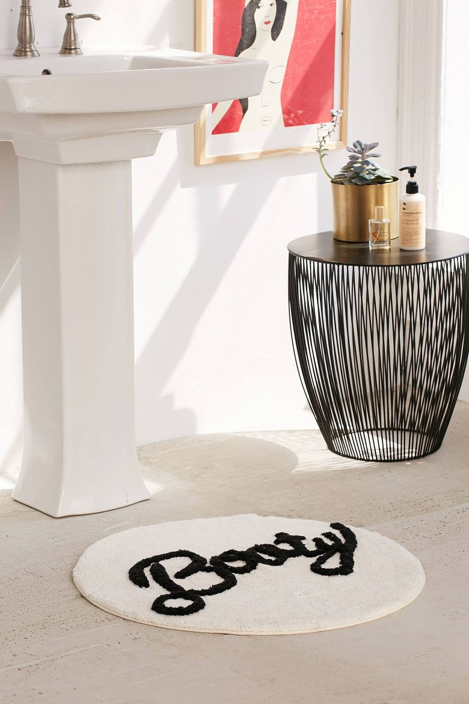 Tapis rond pas cher et design blog d co clem around the corner - Tapis rond salle de bain ...
