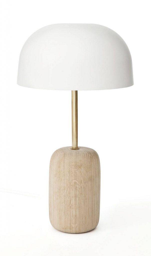 chez moi nina lampe harto laiton chene - blog deco - clem around the corner
