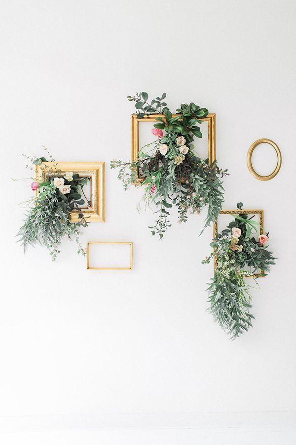 d co murale mariage 10 id es pour son lieu clem around. Black Bedroom Furniture Sets. Home Design Ideas