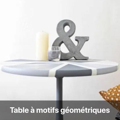 table nuance de gris tutoriel - blog diy création déco - clem around the corner