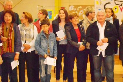 Clémence CARUANA participe à la Semaine des arts de Puygouzon, du 12 au 20 Octobre 2013