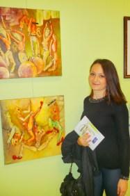 Clémence CARUANA participe au Salon d'automne à Saint-Benoit-de-Carmaux, du 18 au 27 Octobre 2013
