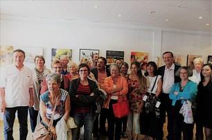 Caruana Clémence Exposition Galerie la Mosaïque à Saint-Jean 2017