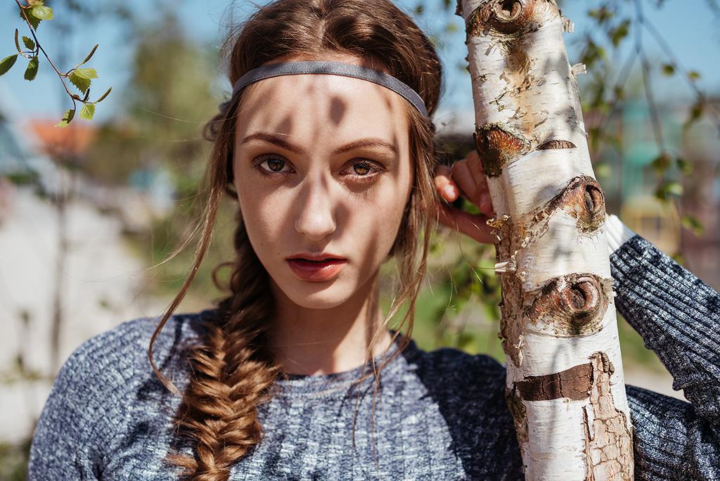 Fashion shoot med Helene Marshall / Le Management