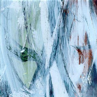 die farben der see, 2001, hinterglas mischtechnik