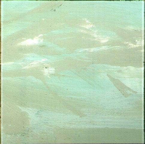 moody water (biscaya), die farben der see, 2001, hinterglas mischtechnik
